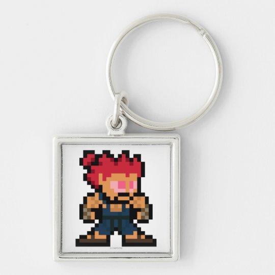 8-Bit Akuma Keychain