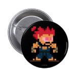 8-Bit Akuma Pinback Button