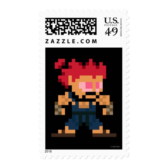 8-Bit Akuma Postage