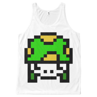 8 Bit Army All-Over-Print Tank Top