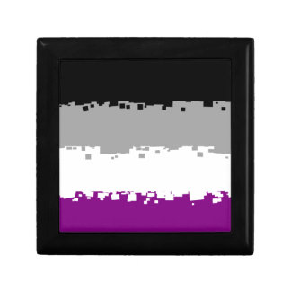 8 Bit Asexual Pride Flag Gift Box