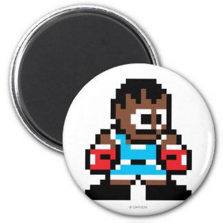 8-Bit Balrog Fridge Magnet