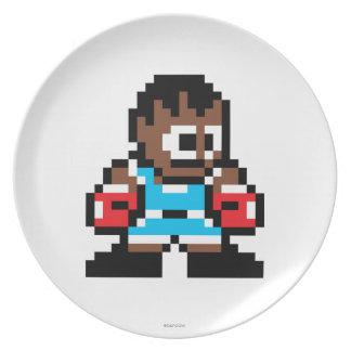 8-Bit Balrog Melamine Plate