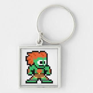 8-Bit Blanka Keychain