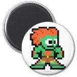 8-Bit Blanka Magnet