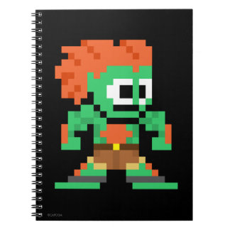 8-Bit Blanka Notebook