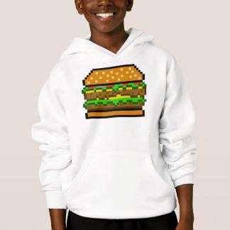 8-bit Burger Hoodie