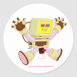 8 Bit Buzz v1.0 Sticker