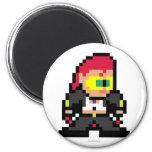 8-Bit C. Viper 2 Inch Round Magnet