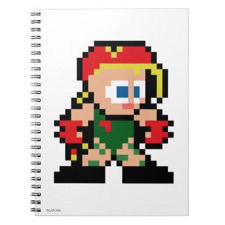 8-Bit Cammy Spiral Notebook