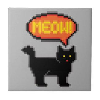 8-Bit Cat Tile