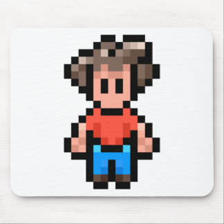 8-Bit-Character Mouse Pad