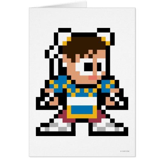 8-Bit Chun-Li Card