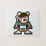 8-Bit Chun-Li Puzzle