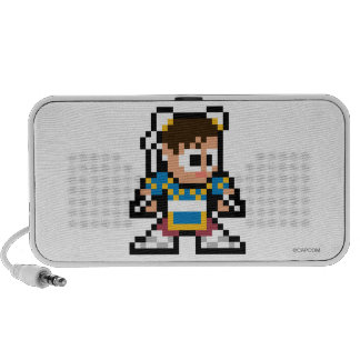 8-Bit Chun-Li Notebook Speakers