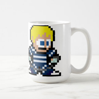 8-Bit Cody Classic White Coffee Mug