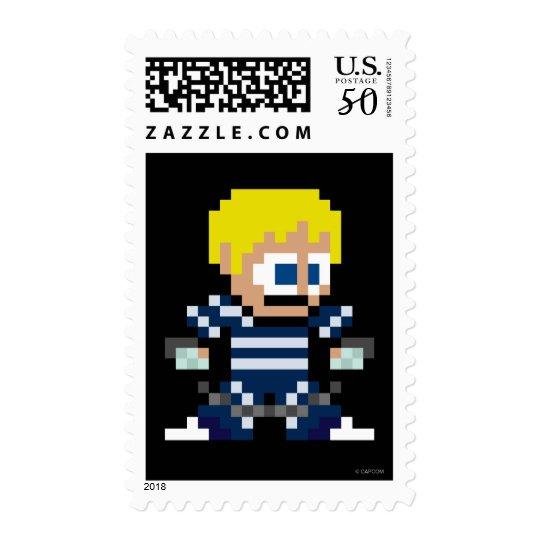 8-Bit Cody Postage