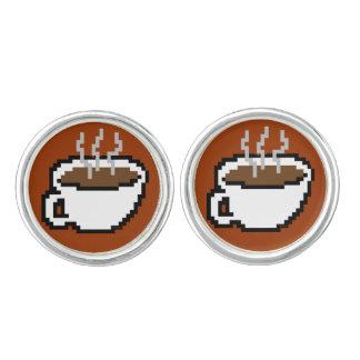 8-bit Coffee Cufflinks