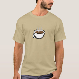 8-bit Coffee - Customizable T-Shirt
