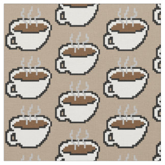 8-bit Coffee Fabric