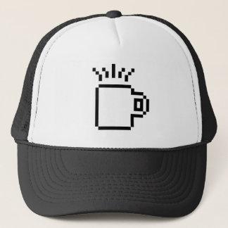 8 Bit Coffee Icon Trucker Hat