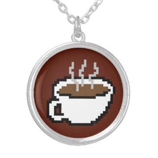 8 Bit Coffee Necklace