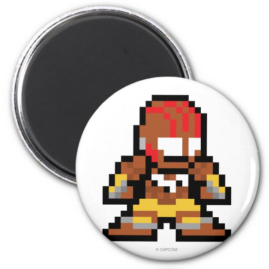 8-Bit Dhalsim Magnet