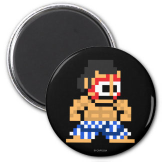 8-Bit E. Honda Magnet