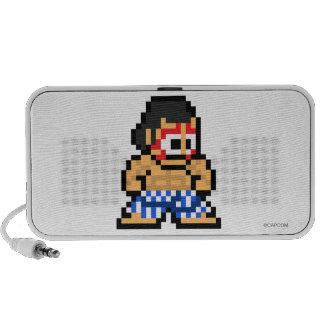 8-Bit E. Honda Mini Speakers