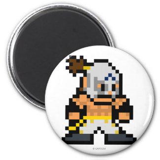 8-Bit El Fuerte 2 Inch Round Magnet