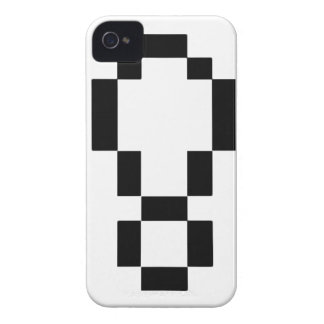 8-Bit Exclamation Point iPhone 4 Cases