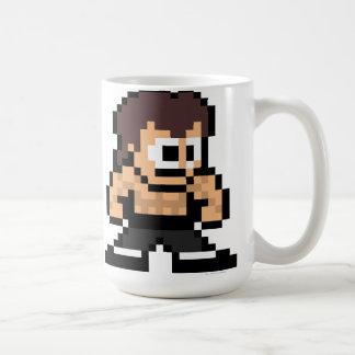 8-Bit Fei Long Classic White Coffee Mug