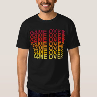 8-bit GAME OVER T-shirt