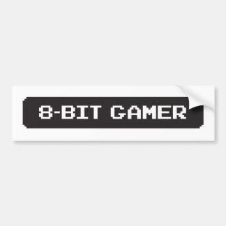 8-bit Gamer Bumber Sticker