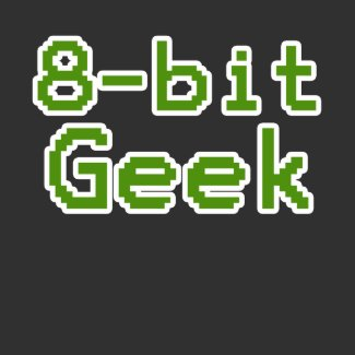 8-bit Geek Humorous Nerd shirt
