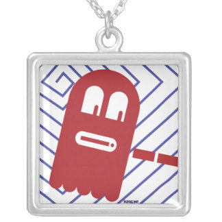 """""""8-BIT GHOST"""" Necklace"""