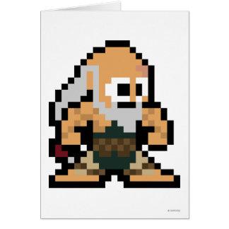 8-Bit Gouken Card