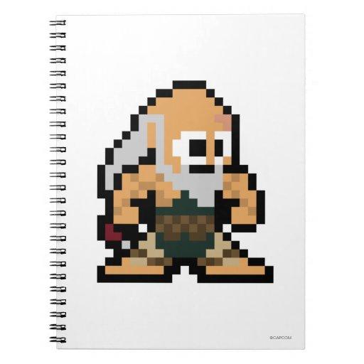 8-Bit Gouken Notebook