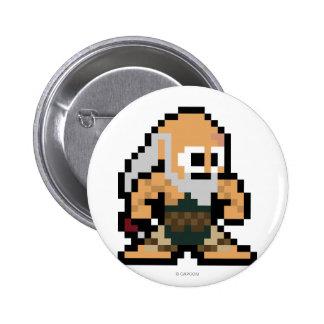 8-Bit Gouken Pinback Button