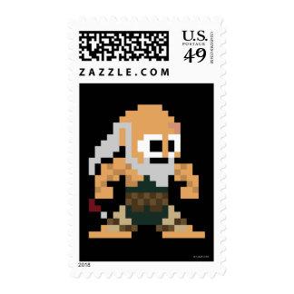 8-Bit Gouken Postage