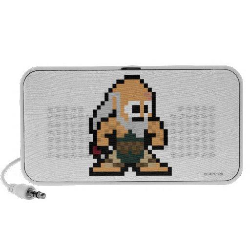 8-Bit Gouken iPhone Speakers