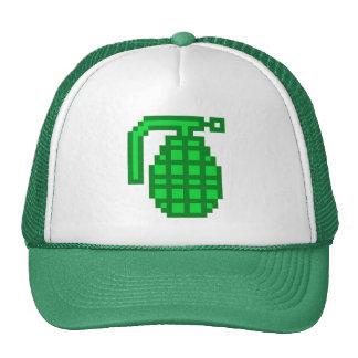 8 Bit Grenade Trucker Hat