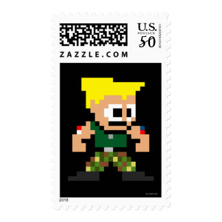 8-Bit Guile Postage
