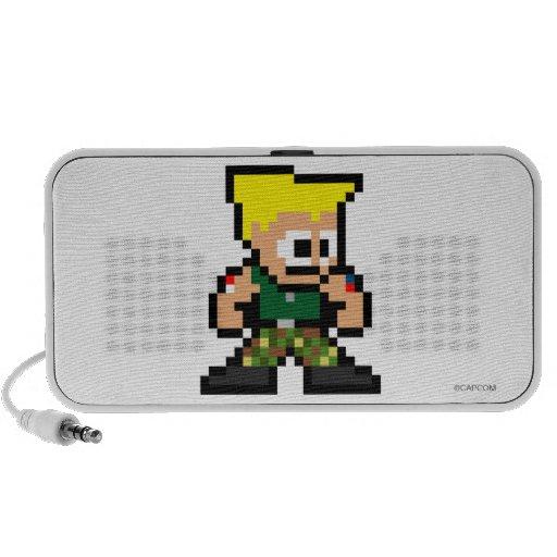 8-Bit Guile Travel Speaker