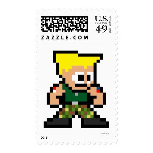 8-Bit Guile Stamp