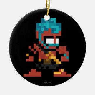 8-Bit Hakan Ceramic Ornament