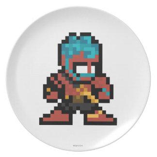 8-Bit Hakan Melamine Plate