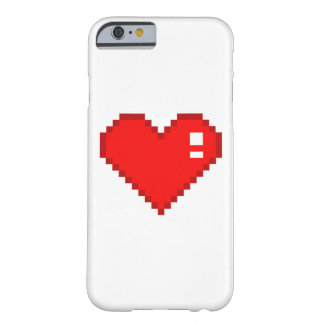 8 Bit Heart Barely There iPhone 6 Case