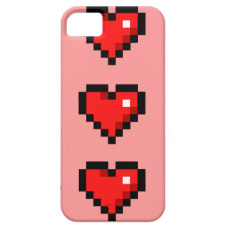 8-bit heart iPhone SE/5/5s case