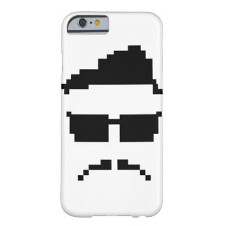 8-bit hipster barely there iPhone 6 case